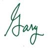 Gary SignatureGreen